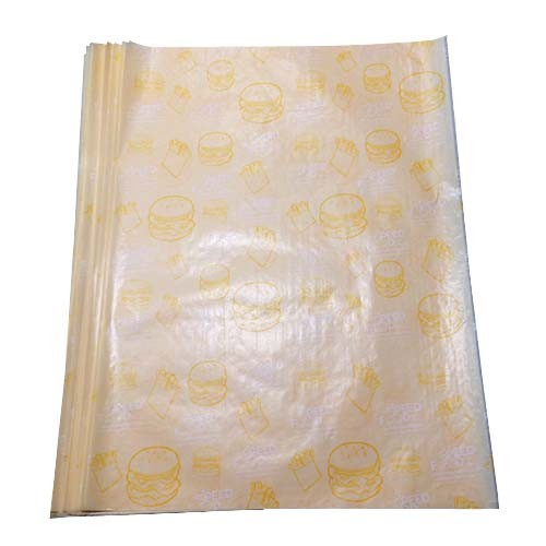 Food safe wrapping paper