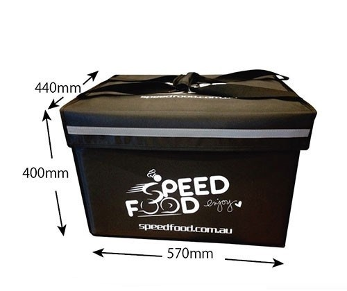 Waterproof food delivery boxes