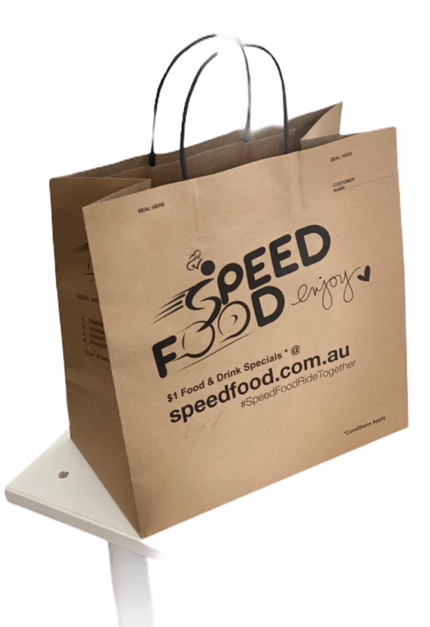 Speed Food Paper Bag