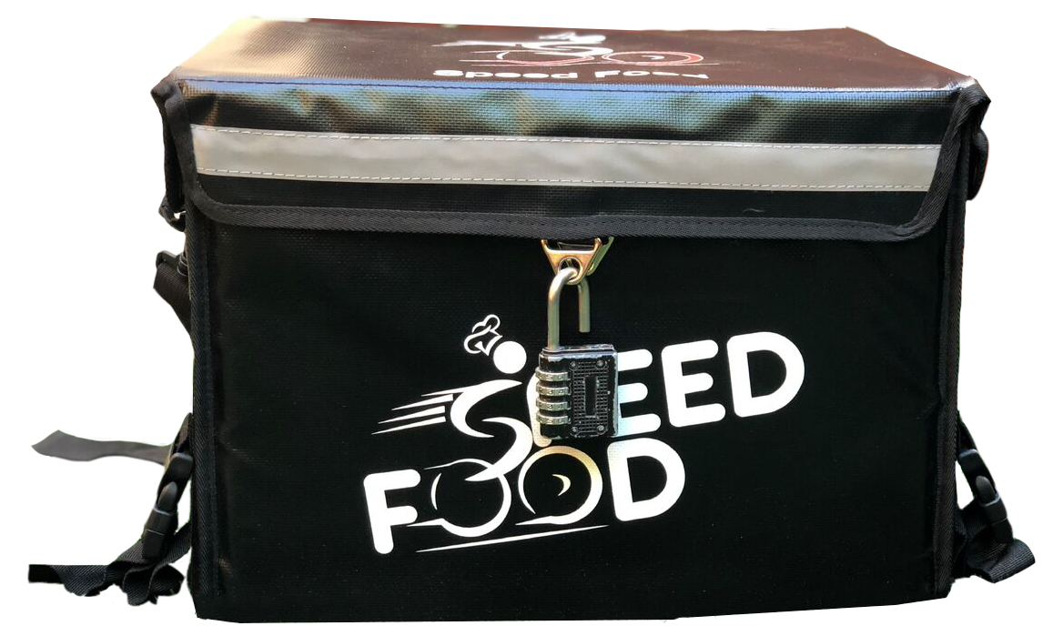 Magnetic food delivery bag
