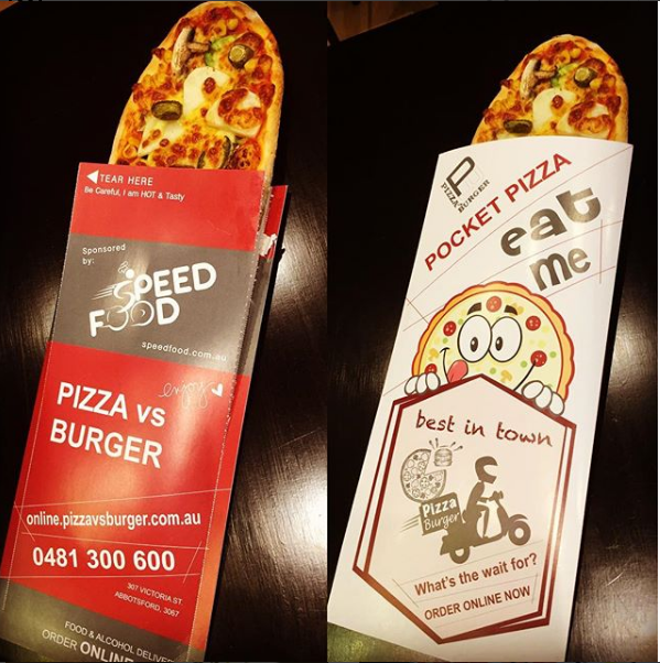 Australia Pizza Box