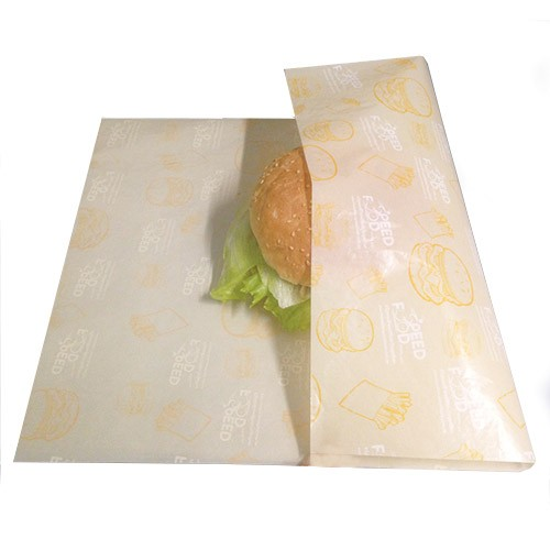 Burger wrapping paper suppliers