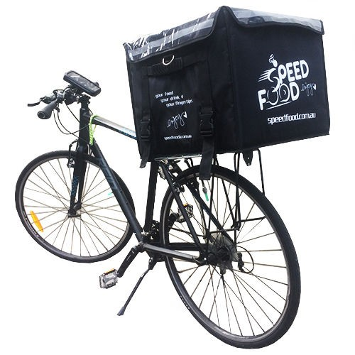 Food delivery box for bike